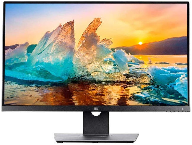Monitor Monoprice Crystalpro IPS 4K de 27 pulgadas.