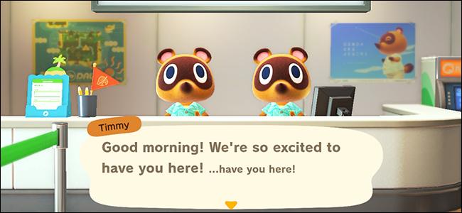 Animal Crossing New Horizons Intro