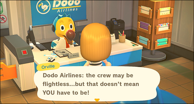 Animal Crossing New Horizons Orville