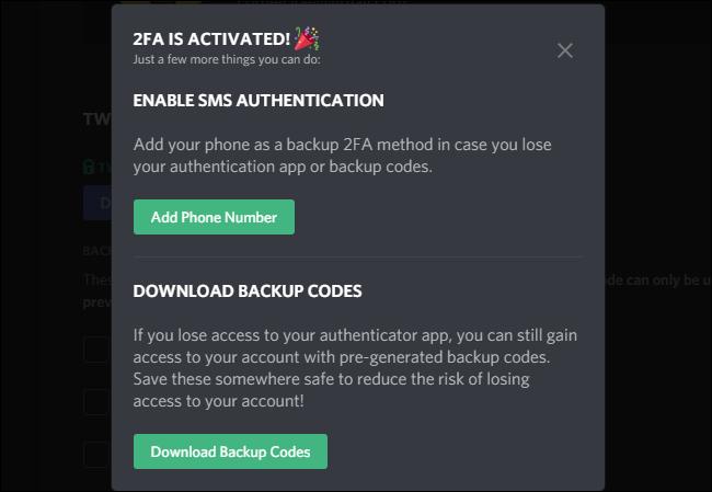 Discord Extra Security
