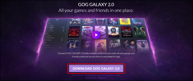 Download GOG Galaxy