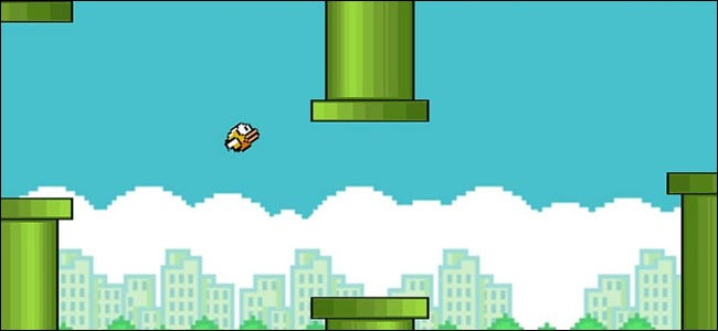 Flappy Bird Mobile Phone Game