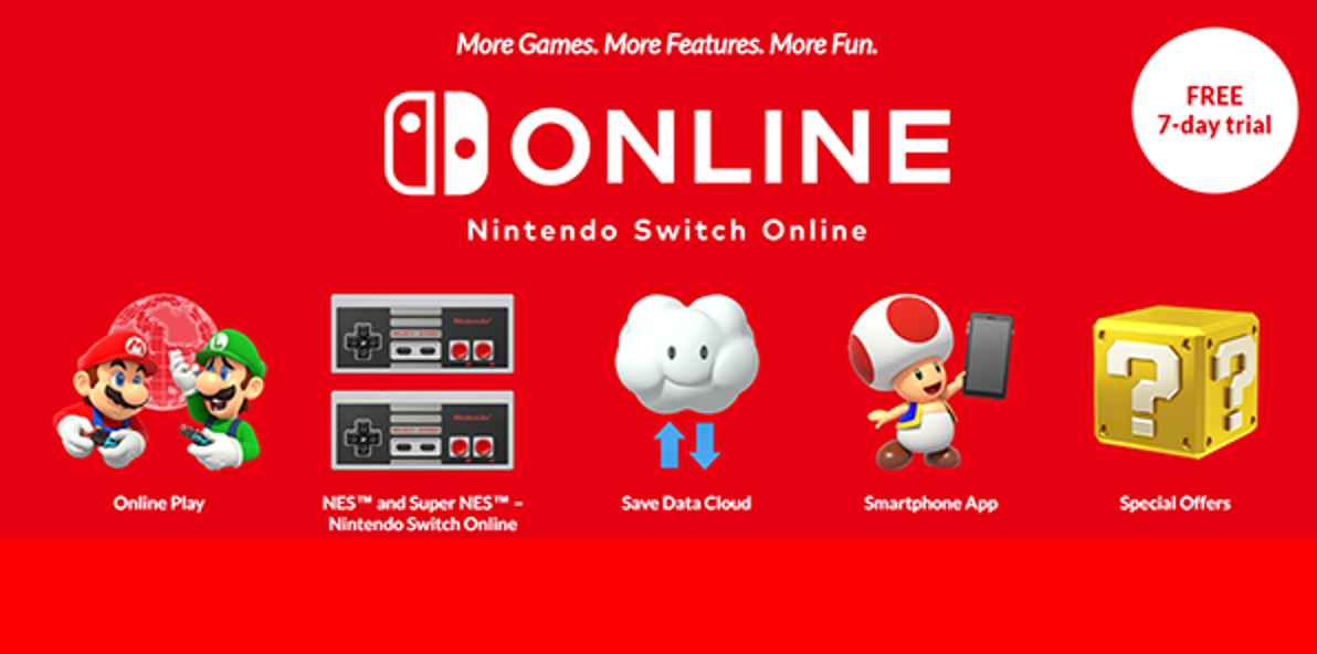 What S Included With A Nintendo Switch Online Subscription