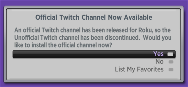 Roku Official Twitch Channel Now Available