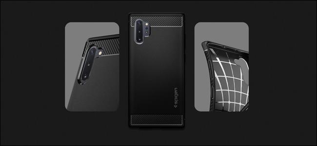 A Spigen Samsung Galaxy Note 10 Case.
