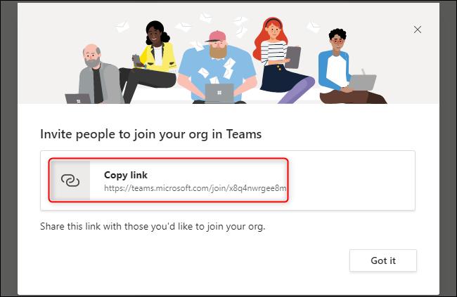Teams Invite