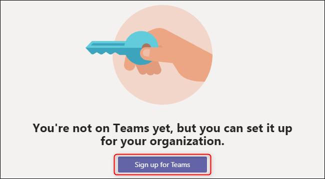 Teams Sign Up