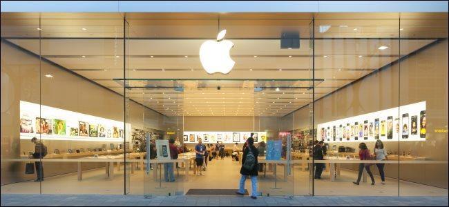An Apple Store in Adelaide, Australia.