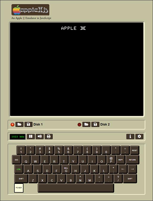La pantalla de inicio en Apple] [js.