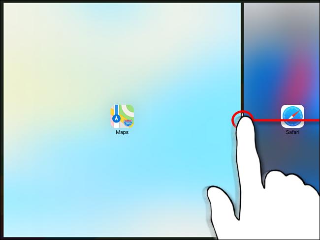 Dispensando Split View no iPad, Etapa 2