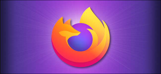 Firefox logo on a purple background