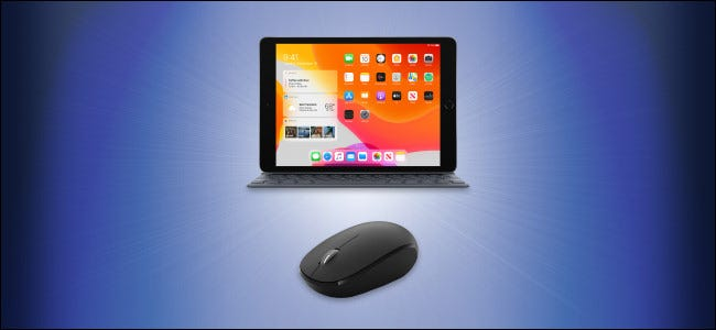 iPad and Mouse Hero Image