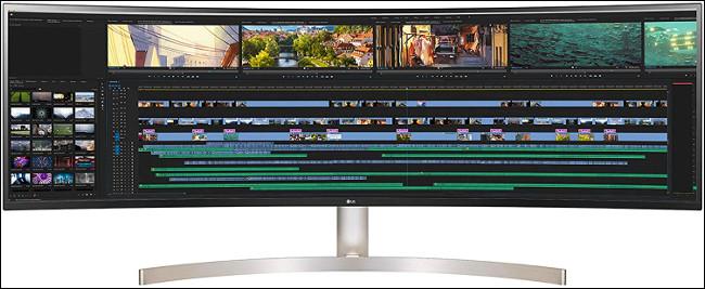 El monitor LG 32: 9 Super-Ultrawide de 49 pulgadas 49WL95C-W.