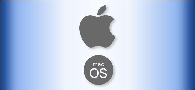 The Apple macOS logo.