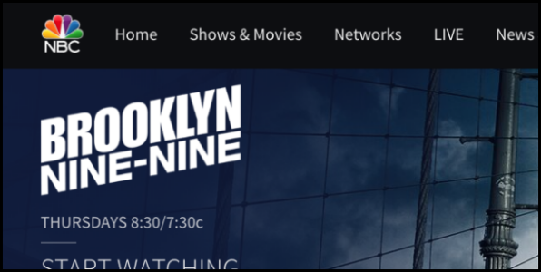 NBC.com Brooklyn Nine-Nine
