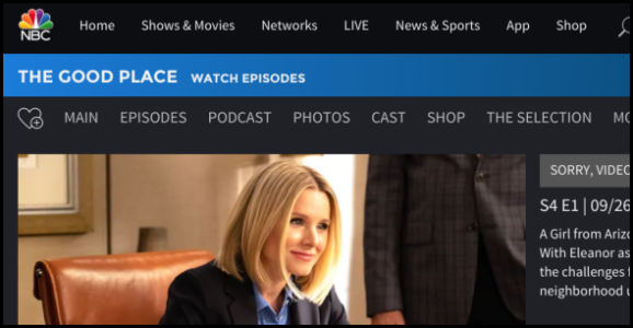 NBC.com The Good Place