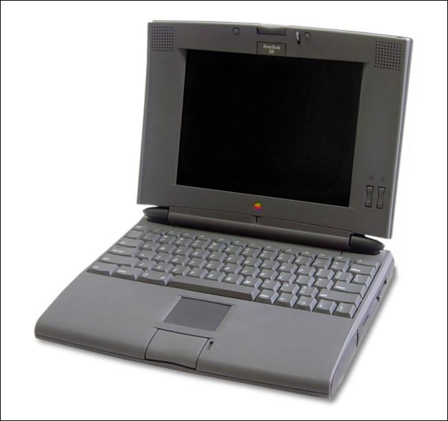 An Apple PowerBook 500 Series