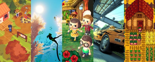 5 Easygoing Video Games to Help You Relax in Stressful Times