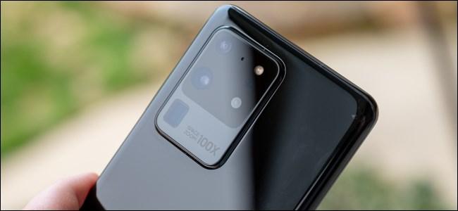 Golpe de cámara Samsung Galaxy S20