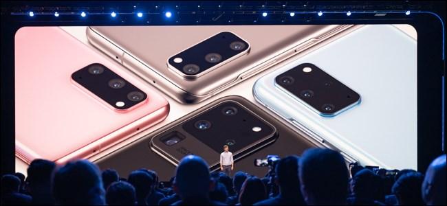 Combinaciones de colores del Samsung Galaxy S20