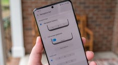 Samsung Galaxy S20: Turning on Gestures and Changing Navigation Bar Button Order