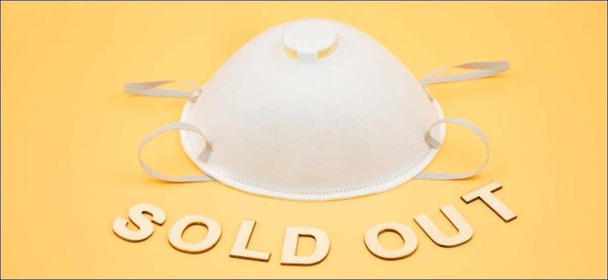 Sold Out Face Mask