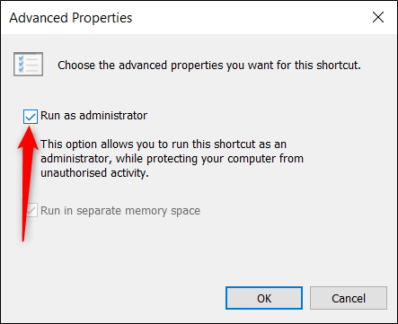"Select the ""Run as Administrator"" option."
