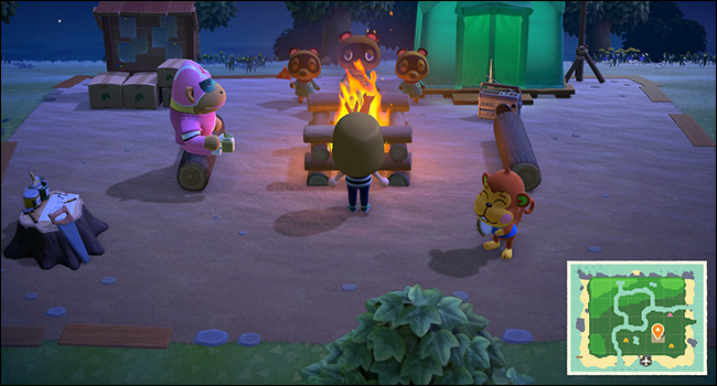 Animal Crossing New Horizons First Day
