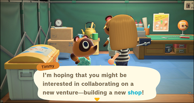 Animal Crossing New Horizons Nook's Cranny