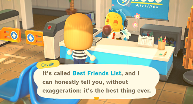 animal crossing new horizons best friend list
