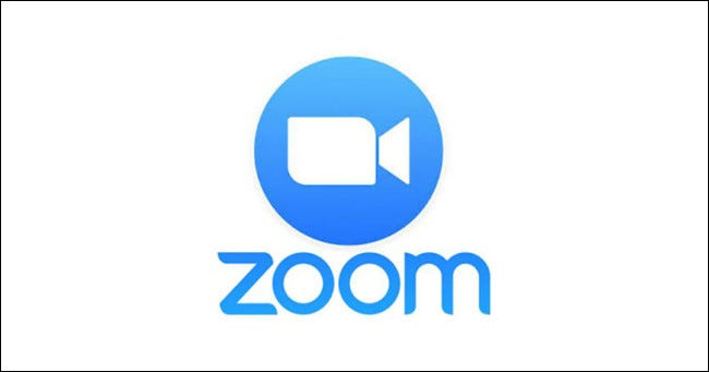 El logotipo de Zoom Meeting.