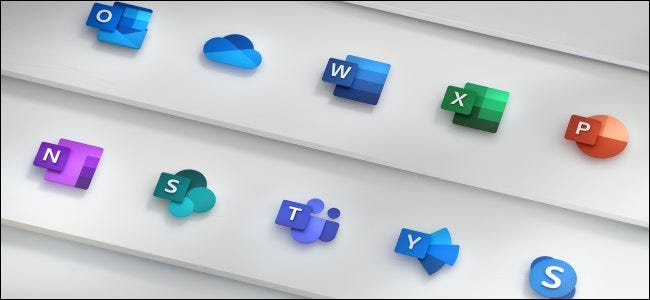 Microsoft's new Office icons
