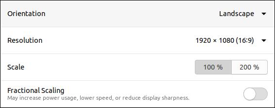 Ubuntu 20.04 fractional scaling set off