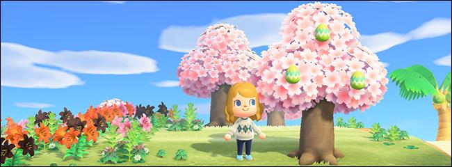 Animal Crossing New Horizons Bunny Day leaf egg