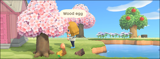 Animal Crossing New Horizons Bunny Day wood egg