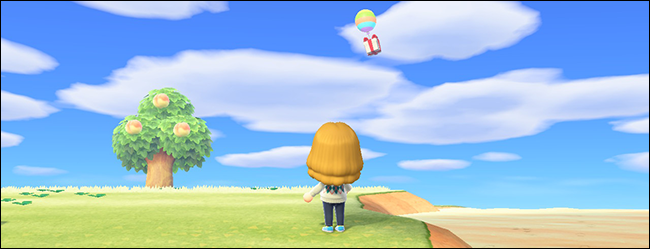 Animal Crossing New Horizons Bunny Day sky egg