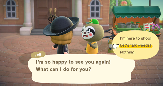 AnimalCrossing_New Horizons Lief and Weeds2