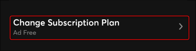 Cancel Quibi Step 3 Change Subscription