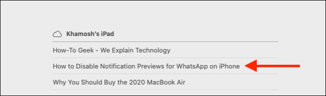 Click on iCloud tab