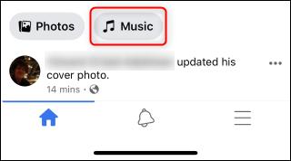 Facebook View Music.