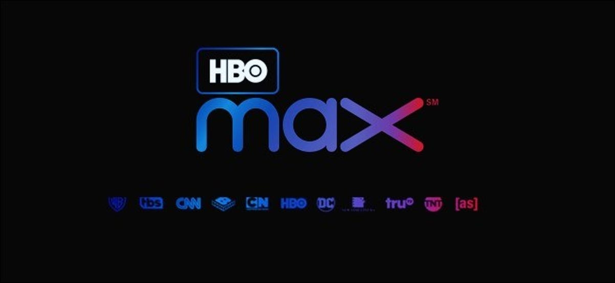 HBO Max Logo on a laptop screen.