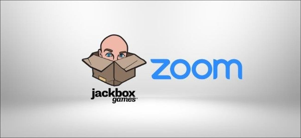 The jackbox games and Zoom Logos.