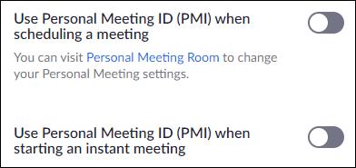 Remove the PMI