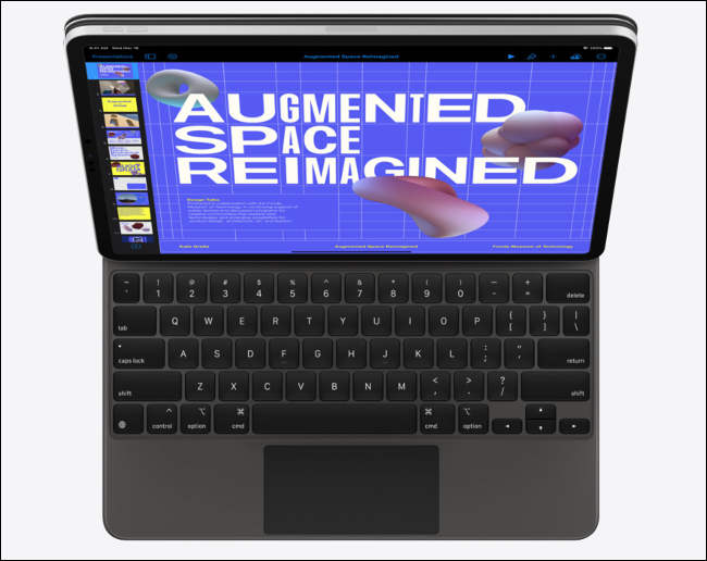 An Apple iPad Pro 2020.