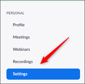 "Click ""Settings."""