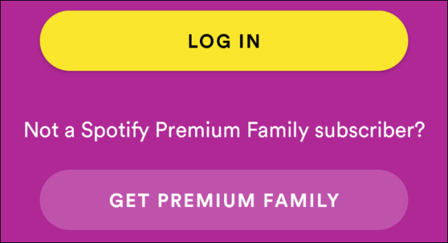 Spotify Kids Login