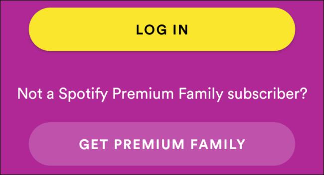 Spotify Kids Login