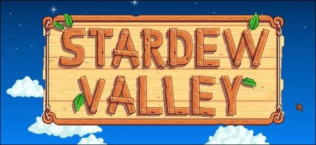 "The ""Stardew Valley"" logo."
