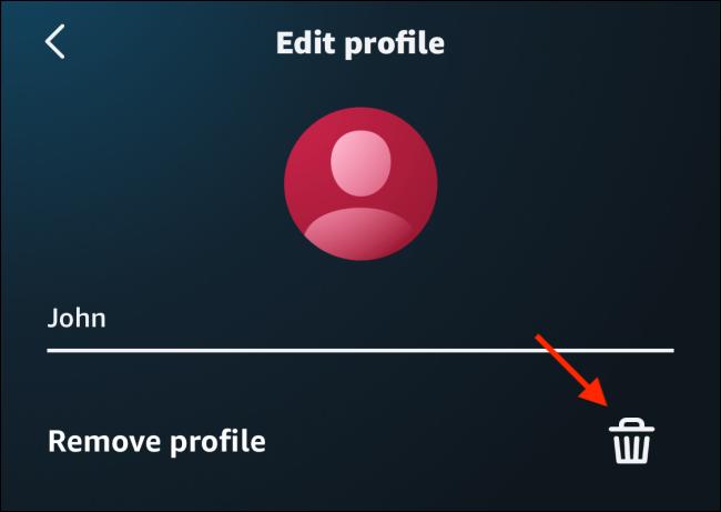 Tap on Delete icon