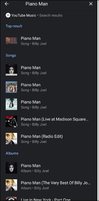 Youtube Music Search Billy Joel